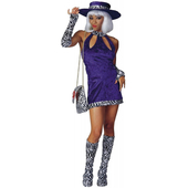 female pimp costume