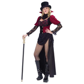 Victorian Burlesque Vampire Costume