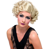 Flapper Wig - Blonde