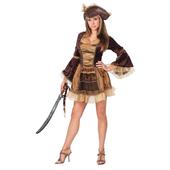 Sassy Victorian Pirate Costume
