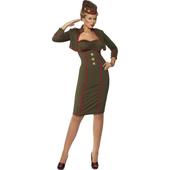 Classy Army Girl Costume