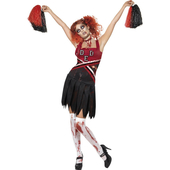 High school horror cheerleader costume