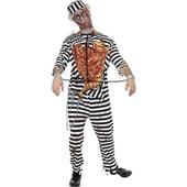 Zombie convict costume