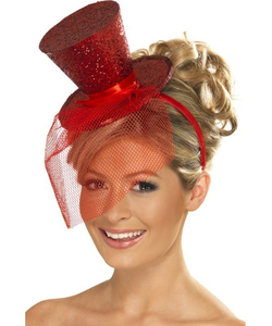 Mini Top Hat - Red