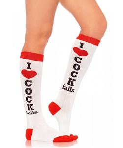 Cocktails Knee Socks
