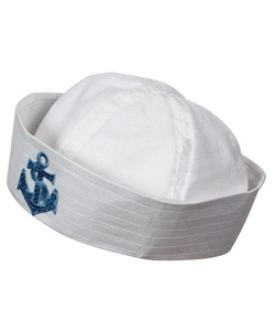 Doughboy Sailor Hat - White