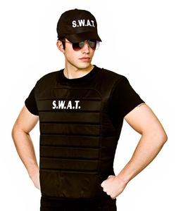SWAT Vest and hat