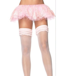 Glitter Filigree Tutu - Pink