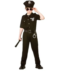 New york cop kids costume