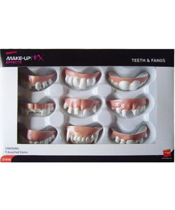 Teeth and Fangs, Assorted Styles