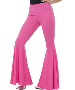 Flared Trousers - Pink
