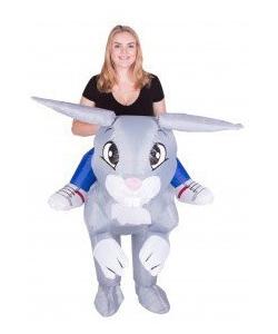 inflatable rabbit costume