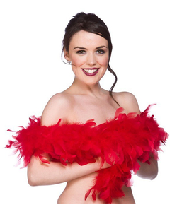 Supersoft Feather Boa - Red
