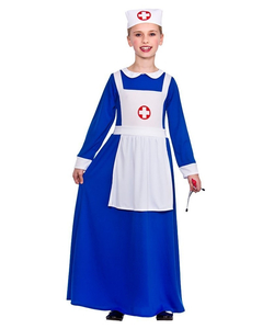 kids wartime nurse costume