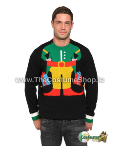 Nerd Christmas Jumper.Christmas Jumpers Novelty Knitted Christmas Jumpers