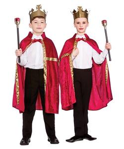 regal robe & crown