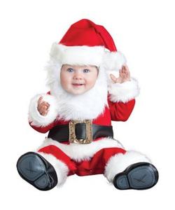 Deluxe Baby Lil Santa Costume