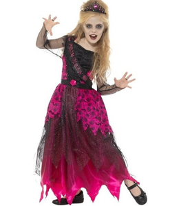 Deluxe Gothic Prom Queen Costume - Kids