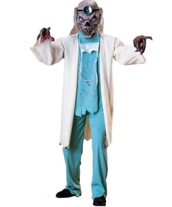 Cryptkeeper doctor costume