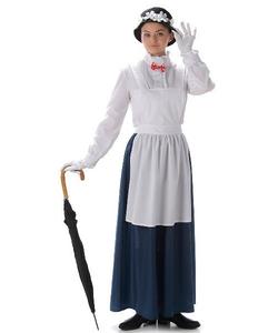 Victorian nanny costume
