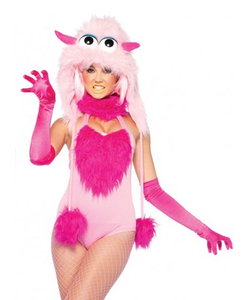 Cotton Candy Monster Costume