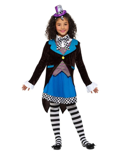 Little Miss Hatter Kids Costume