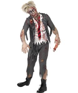 High School Horror Zombie School Boy Costume