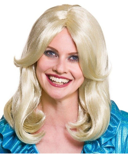 70's Glamour Wig - Blonde