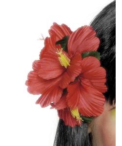 Hawaiian Hair-Clip Flower