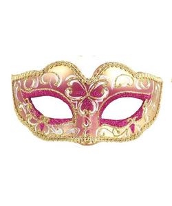 Glitter Eye Mask - Dark Pink