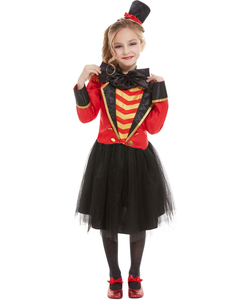 Girls Deluxe Ringmaster Costume - Kids