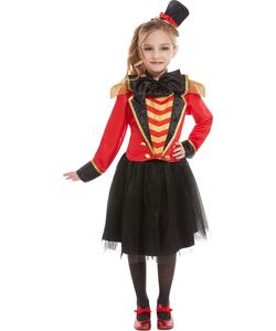 Twenn Girls Deluxe Ringmaster Costume