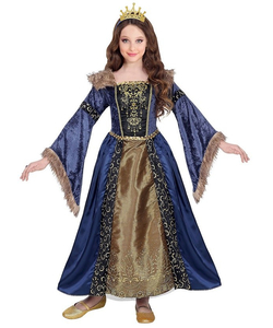 Medieval Queen Costume - Kids
