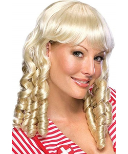 blonde baby doll wig