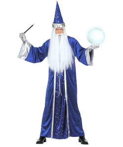 Blue Wizard Costume