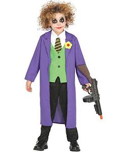 tween Crazy Jester Costume