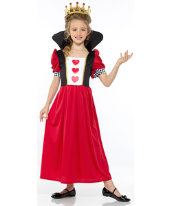 Fairytale Queen Of Hearts Costume - KidsFairytale Queen Of Hearts Costume - Kids