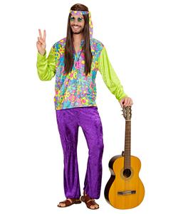 Colourful Hippie Costume