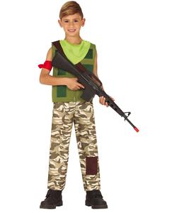 Mercenario Gamer Costume - Tween