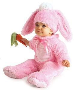 Preciuos pink wabbit costume