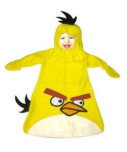 Yellow Angry Birds - Baby Costume