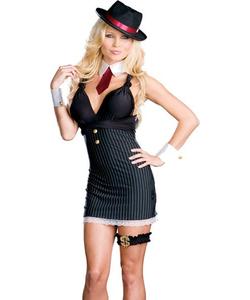 Gangsta Wrap costume