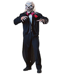 Cryptkeeper in tailsuit costume