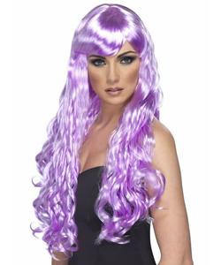 Long Lilac Wig