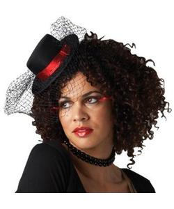 Burlesque Mini Top Hat