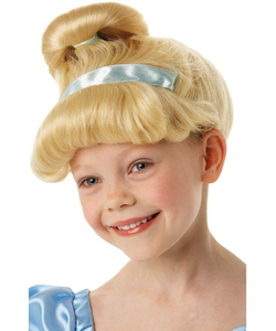 Kids Cinderella Wig Set