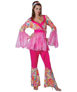Groovy Hippie Chick Costume