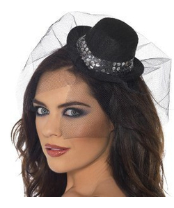 Sequin Mini Top Hat