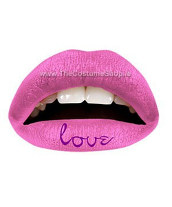 Pink Love Temporary Lip Tattoo