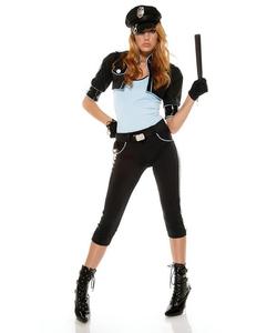 Ladies Cop Costume